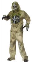 Skeleton Zombie Kostüm für Teenager und Herren 001