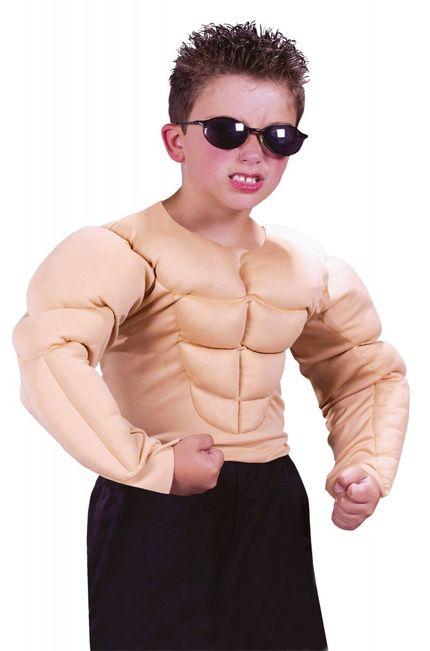 Muskulöser Oberkörper für Jungen Sixpack  – Bild 1