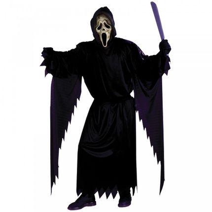 Ghost Face Scream Kostüm mit Maske für Erwachsene Gr. L/XL