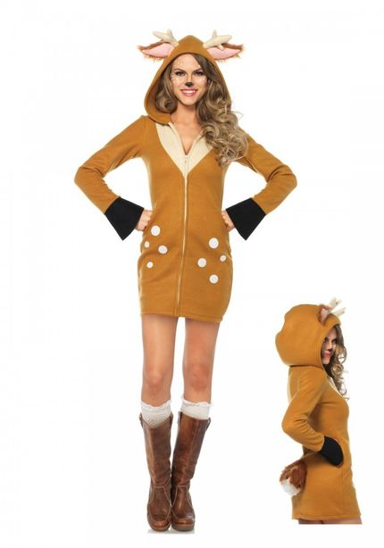 Cozy Fawn Damen-Kostüm von Leg Avenue – Bild 1