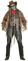 Wanted: Dead Or Alive Zombie 3D Kostüm für Herren  001