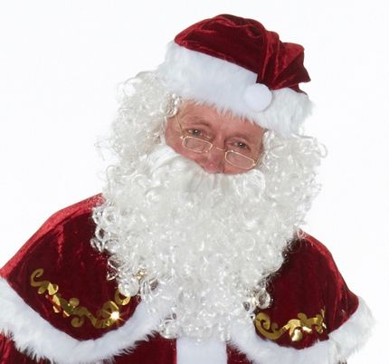 Santa Claus Perücke und Bart - Modell 1 – Bild 1