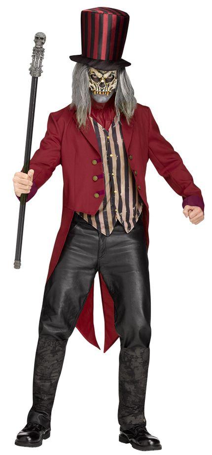Freak Show Ring Master Herren-Kostüm