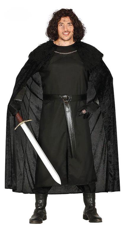 Herren Kostüm Mittelalter-Wächter