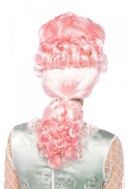 Rosafarbene Marie Antoinette Perücke von Leg Avenue – Bild 2