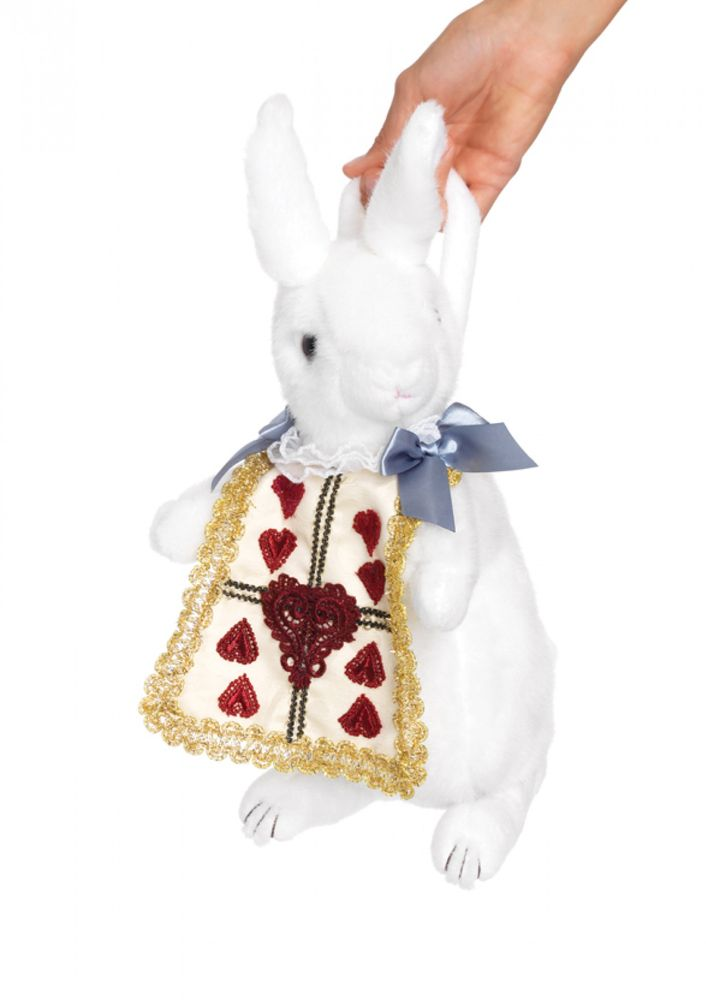white rabbit henkeltasche von leg avenue alice im wunderland hase kaninchen kost me accessoires. Black Bedroom Furniture Sets. Home Design Ideas