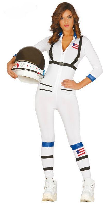 Sexy Astronautin Damenkostüm