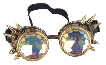 Steampunk Goggles mit und ohne Spikes und Prisma – Bild 5