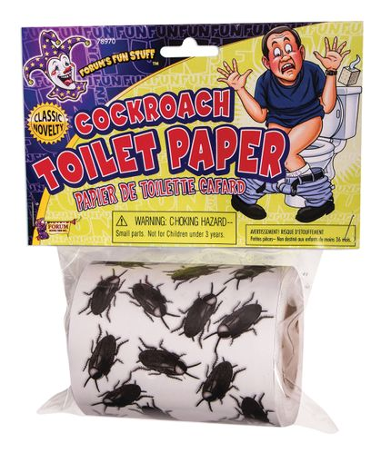 Toilettenpapier mit verschiedenen Motiven für Halloween oder als Party-Mitbringsel – Bild 2