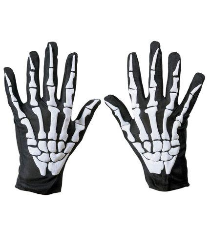 Skelett Handschuhe für Erwachsene – Bild 1