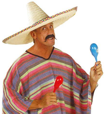 Sombrero mit buntem Zierband 65 cm – Bild 2