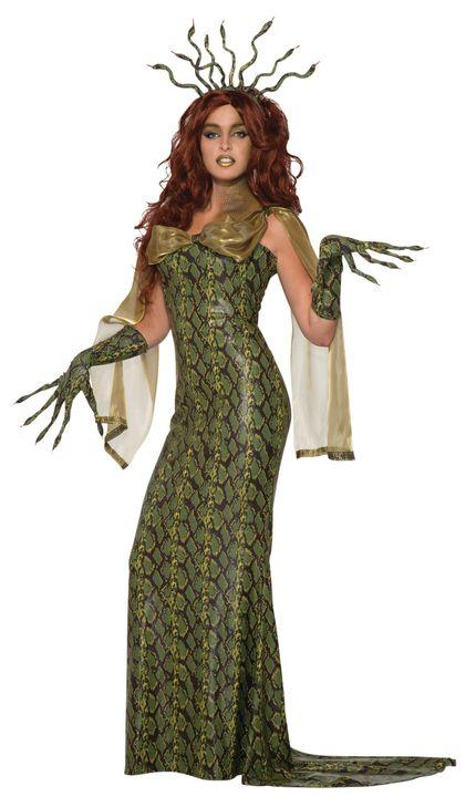Medusa Damen Kostüm Gr. S/M