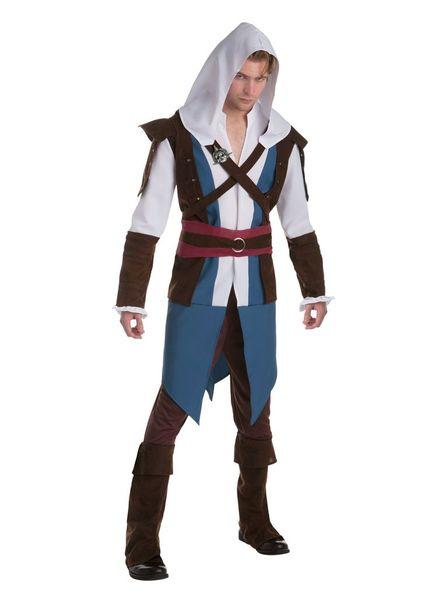 Assessin's Creed Edward Kenway Herren Kostüm