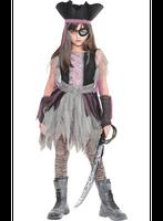 Geisterpiratin Kostüm für Mädchen