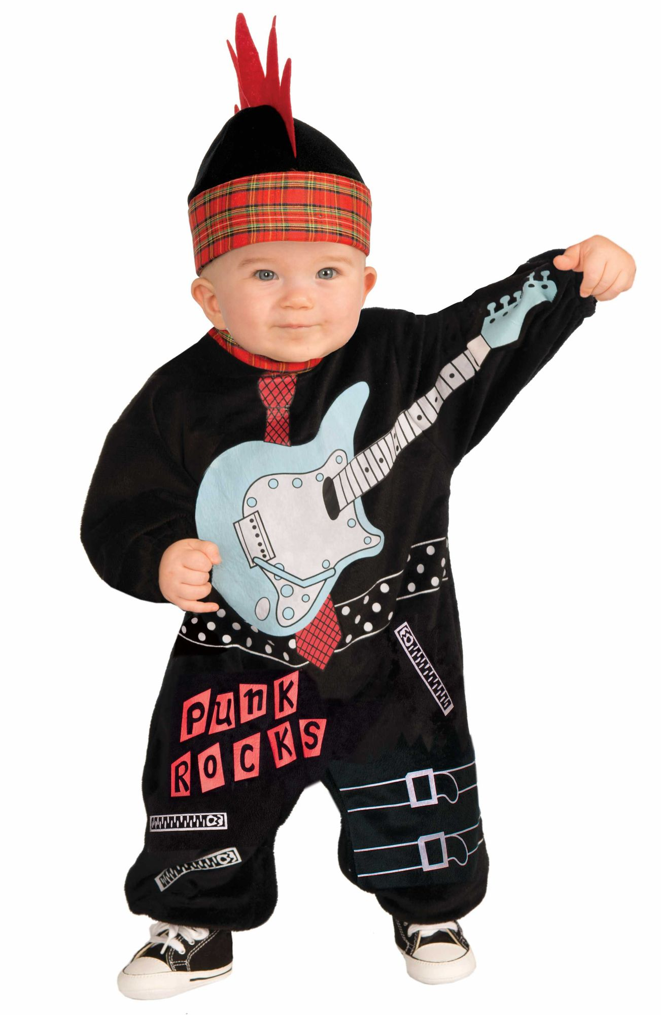 Punk Baby Boy Rock Star Jungen Kostum Fur Kleinkinder Kinderkostum