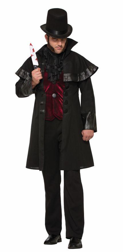 Jack The Ripper Halloween-Kostüm für Herren Gr. L