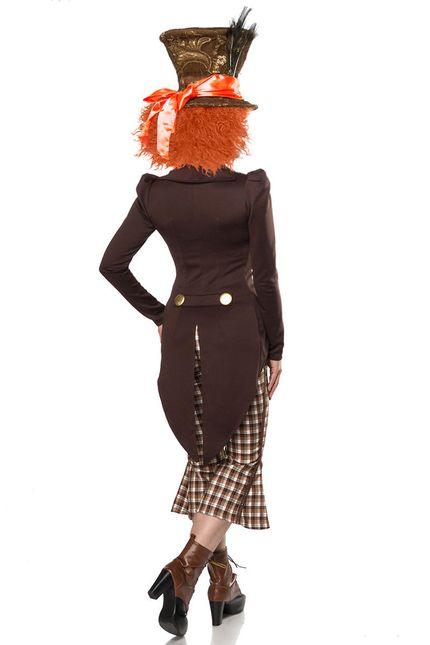 Super Deluxe Mad Hatter Damen Kostüm – Bild 2