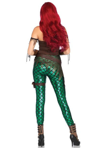Rebel Mermaid Damen-Kostüm von Leg Avenue – Bild 2