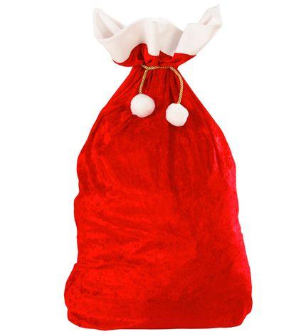 Weihnachtsmann Sack aus Samt 60 x 100 cm – Bild 1