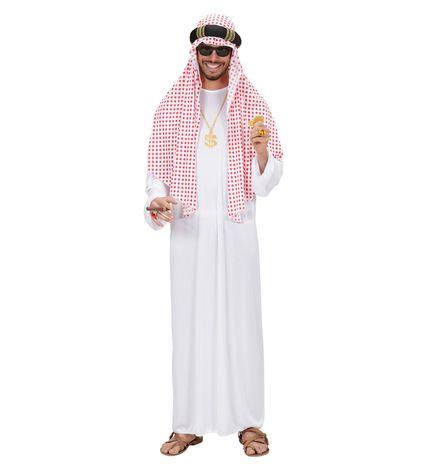 Arabischer Scheich Herren Kostüm – Bild 3
