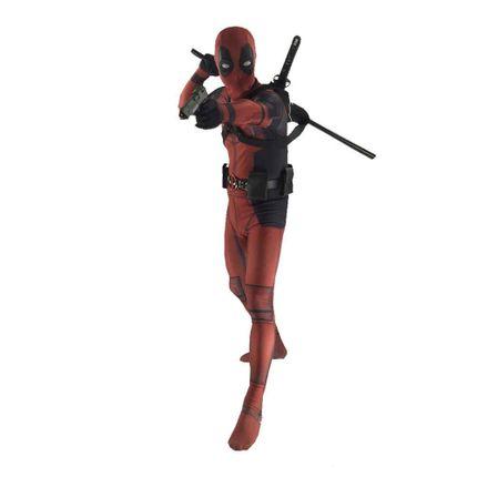 Deadpool Kostüm für Teenager Damen und Herren – Bild 3