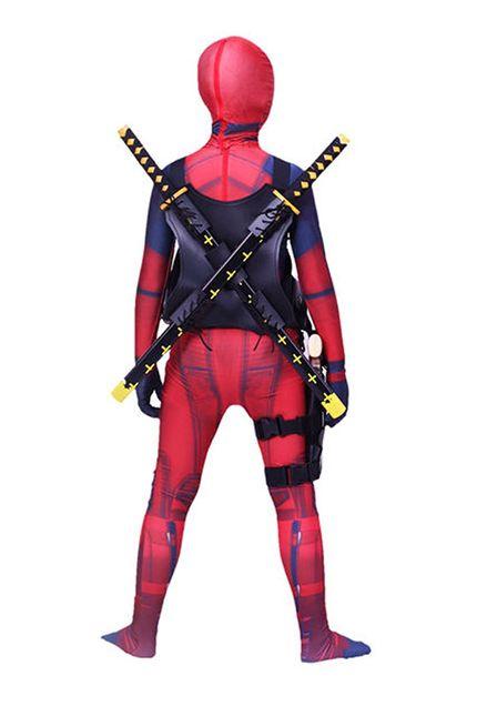 Deadpool Kostüm für Teenager Damen und Herren – Bild 4