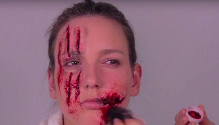 Schürfblut 15 g Wundschorf Make-up Blut Kunstblut Theaterblut Filmblut – Bild 3