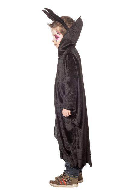 Kinder Kostüm Dark King Robe mit diabolischen Hörnern – Bild 2