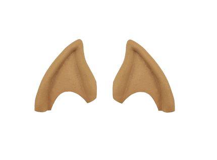 Luxus Ohrenspitzen Latex mit Kleber – Bild 1