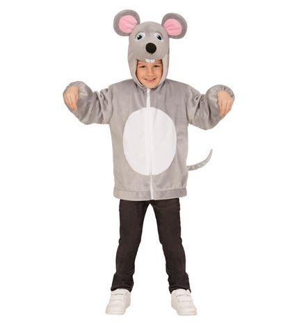 Maus Kinder Kostüm Kapuzenjacke Plüsch