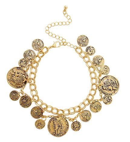 Armband Goldmünzen Schmuck – Bild 1