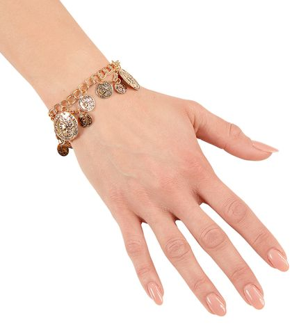 Armband Goldmünzen Schmuck – Bild 2