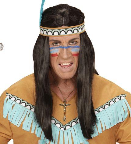 Goldene Totem Kette mit Steinen für Indianer und Ägypterin – Bild 4