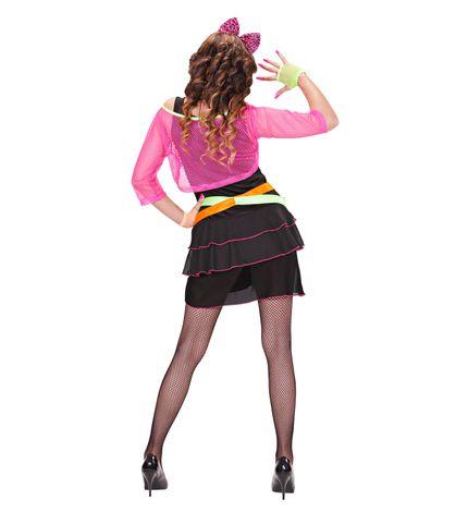 80s Groupie Girl Damen Kostüm – Bild 3