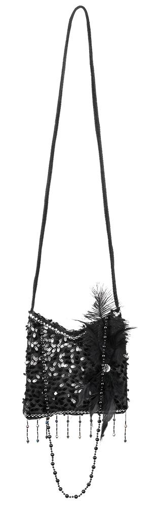 Charleston Handtasche schwarz – Bild 1