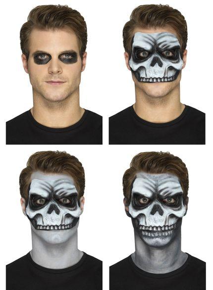 Prothesen Maske aus Schaumlatex mit Kleber verschiedene Ausführungen – Bild 3