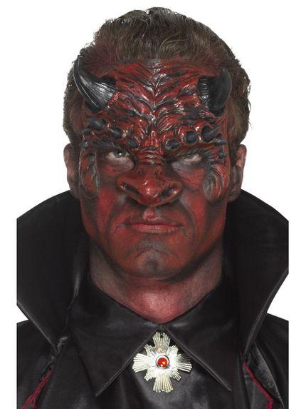 Prothesen Maske aus Schaumlatex mit Kleber verschiedene Ausführungen – Bild 6