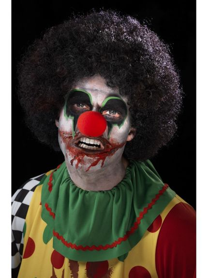 7-teiliges Schminkset Killer Clown Make-up für Halloween und Karneval – Bild 5