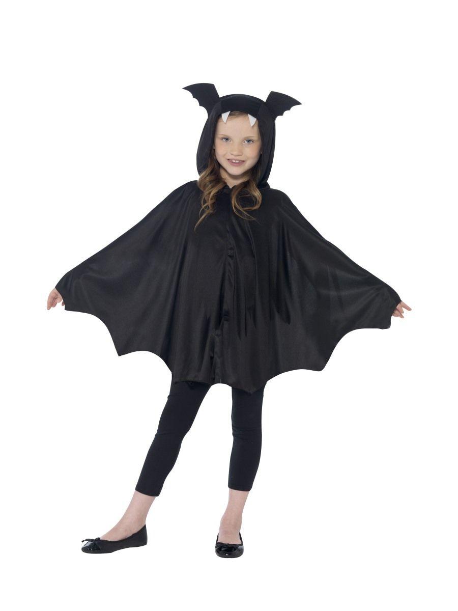 Fledermaus Cape Mit Kapuze Fur Kinder Halloween Kostum Shoperama