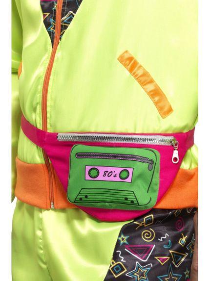 80er Jahre Hip Bag Bauchtasche Kassette – Bild 2