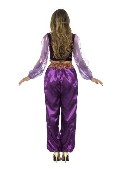 Arabische Prinzessin 1001 Nacht 3-teiliges Damen Kostüm – Bild 3