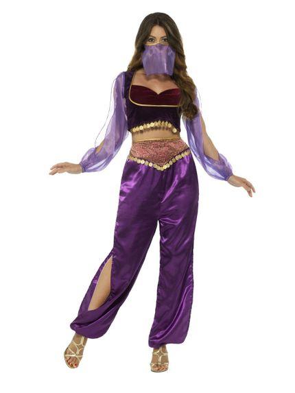 Arabische Prinzessin 1001 Nacht 3-teiliges Damen Kostüm – Bild 1