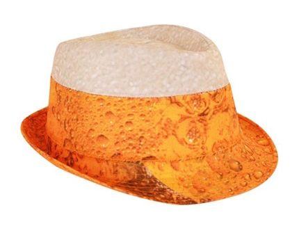 Trilby Hut mit Bier Druck – Bild 1