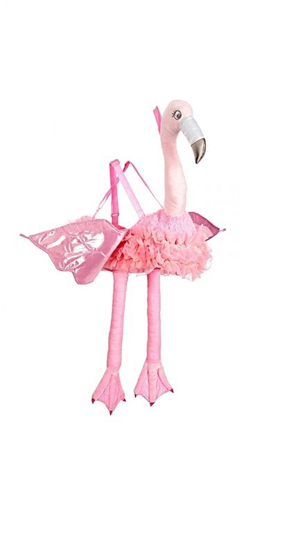 Ride On Kostüm Flamingo für Kinder – Bild 3