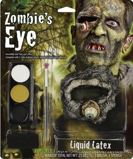 Halloween Schminkset herausfallendes oder fehlendes Auge – Bild 1