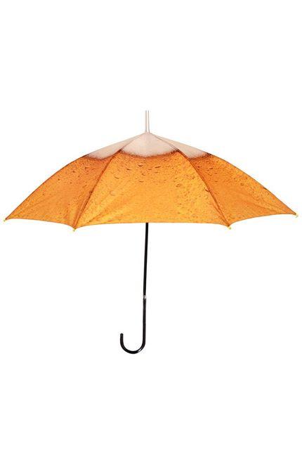 Regenschirm mit Bier Druck