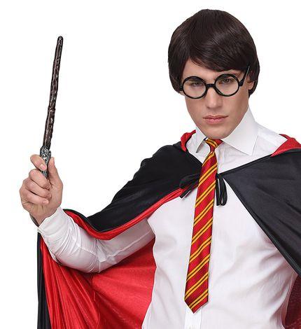 Zauberer Set Krawatte Zauberstab Brille – Bild 2