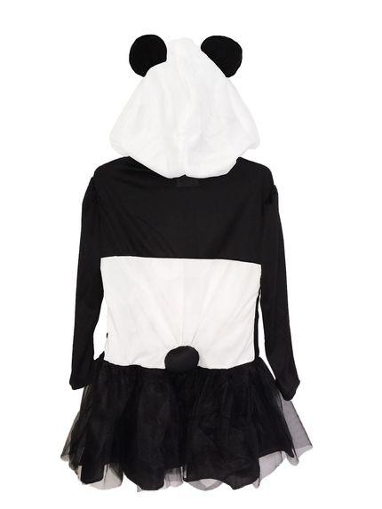 Panda Mädchen Kostüm Pandabär Kleid – Bild 2