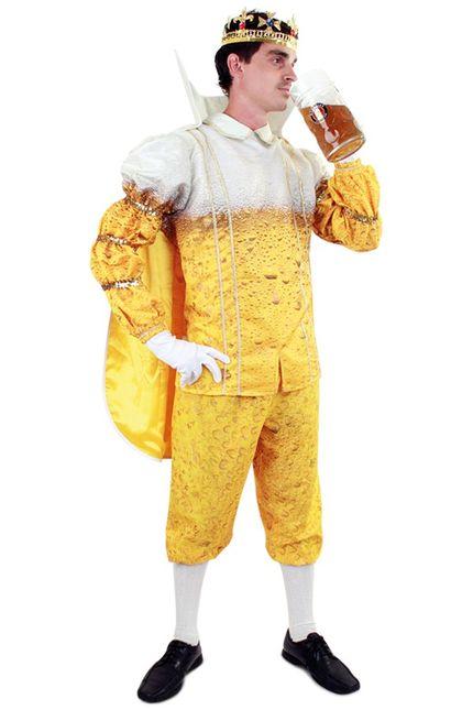 Bier Prinz Karneval Herren Kostüm – Bild 1