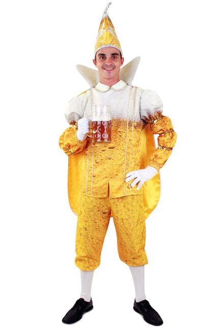 Bier Prinz Karneval Herren Kostüm – Bild 2